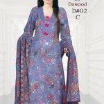 Dawood Textiles Latest Winter Collection 2013 For Women (1)