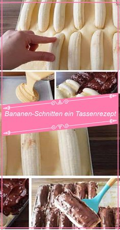 Bananen-Schnitten ein Tassenrezept – RezepteBlog.net