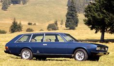Fiat 130 Shooting Brake mo one was Build
