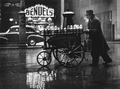 Milkman on Charing Cross Road, London,1935.    by Wolfgang Suschitzky