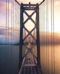 @scottys.frames photographed the Bay Bridge at sunrise. Photo: Instagram / Scottys.frames