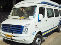 Hire 9 seater tempo traveller services from pahar ganj Delhi. ac tempo traveller rental rates, 15 seater tempo traveller, 12 seater tempo traveller, luxury tempo traveller on rent in delhi.