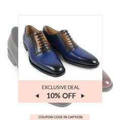 10% OFF your blue shoes and boots. Get them NOW! Coupon Code: BLUE.  Min Purchase: N/A.  Expiry: 12-Aug-2017.  Click here to avail coupon: https://small.bz/AAf8x8S . #musthave #loveit #instacool #shop #shopping #onlineshopping #instashop #instagood #instafollow #photooftheday #picoftheday #love #OTstores #smallbiz #sale #coupon
