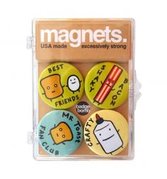 Set de imanes Sr. Tostada Cool Ideas, Magnets, Sheet Metal, Original Gifts, Creativity