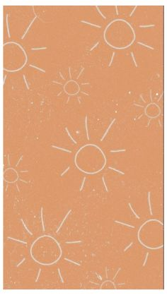 simple wallpaper iphone pastel orange