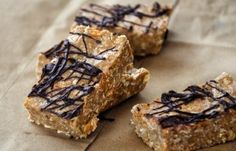 Crnchy Chocolate Peanut Butter Protein Bars - add chia seeds