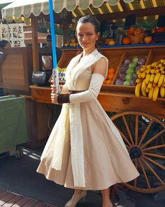 @foreverdisneybound was GORGEOUS as dapper Rey on dapper day