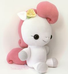 Baby Pony Plush Sewing Pattern by TeacupLion.jpg (900×980)