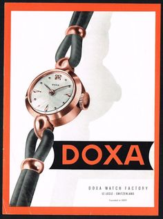 1953 Doxa ad ‹ Strickland Vintage Watches