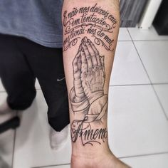 Tattoo Toni e eu Dad Tattoos, Forearm Tattoos, Body Art Tattoos, Tattoos For Guys, Sleeve Tattoos, Cool Tattoos, Tatoos, Religious Tattoos, Tattoos With Meaning
