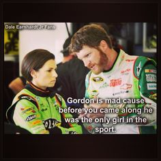 Nascar: Dale Earnhardt Jr. and Danica Patrick