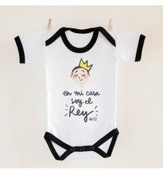 Body bebé Rey #pedritaparker #niños #body