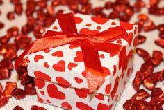 Gift Box Ribbon Heart