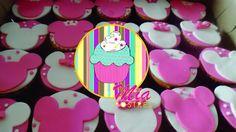 Cupcakes minnie en fondant