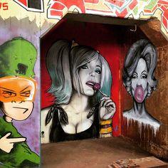 The PowerHouse gallery space in Geelong #geelong #graffiti #artwork #wallart #gallery #urban_art #artspace #streetart