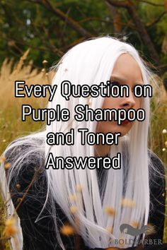 In this article we ll make sure that every question on purple shampoo and toner is answered How it works how long to leave it in how to remove it and Blonde Hair Purple Shampoo, Purple Shampoo Toner, Lila Shampoo, Purple Shampoo For Blondes, Purple Shampoo And Conditioner, Best Purple Shampoo, Shampoo For Gray Hair, Blonde Hair Looks