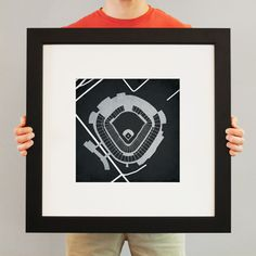 For all us White Sox fans out there  US Cellular Field | City Prints Map Art