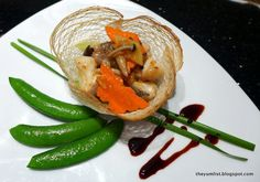 Fine Dining Plate Presentation | Fine dining Chinese.. reasonable prices.