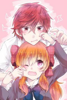 Mikorin and Sakura~ Gekkan Shojo Nozaki-Kun | Anime Couple