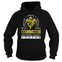 COURINGTON Legend - COURINGTON Last Name, Surname T-Shirt