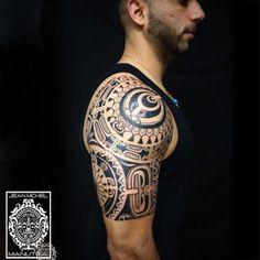 maori tattoos information Maori Tattoo Designs, Tattoo Designs And Meanings, Tattoos With Meaning, Elephant Tattoos, Tribal Tattoos, Maori Tattoos, Polynesian Tattoos, Tatoos, Great Tattoos