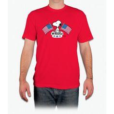 All American Snoopy - Men T-Shirt