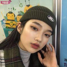 Korean Natural Makeup, Korean Makeup Look, Asian Eye Makeup, Korean Aesthetic, Aesthetic Girl, Aesthetic Outfit, Korean Beauty Girls, Asian Beauty, Pretty Makeup