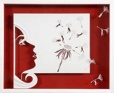 Love this!   AIR  Paper cut and paper sculpture  photographic by ArtPapier, $7.00   Daniel MAR  Niort, Poitou, France