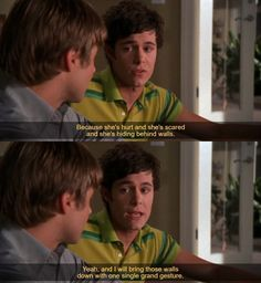 I wish these gestures were in real life 2x02 #theOC