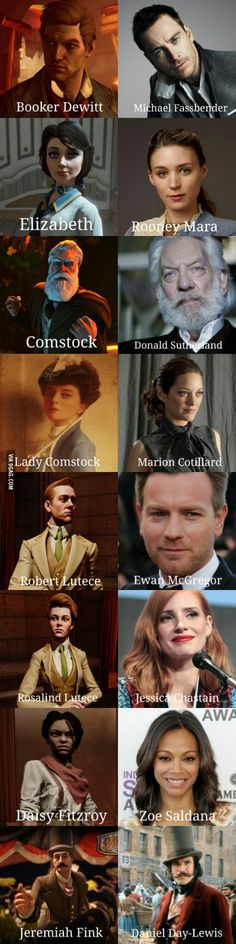 If Bioshock Infinite ever became a film, this would be my cast. What would yours be?
