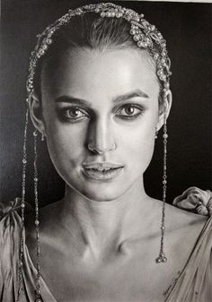 *Attention to detail in character and costume* Keira Knightley by Hongmin on deviantART