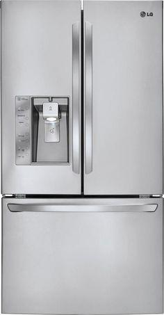 Ft. French Door Refrigerator With Thru The Door