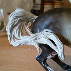 Model Horse Custom Resculpted Breyer Connemara Mare Tail