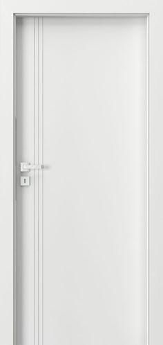 DBEV-VEP-B Single Custom Painted Solid Core Modern Interior Doors, Contemporary Interior Doors, Eco Veneer
