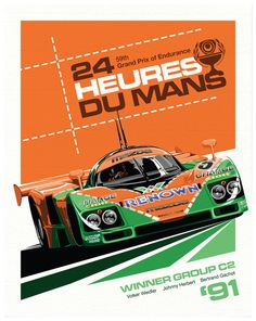 787B Le Mans by Sean Kane, via Behance