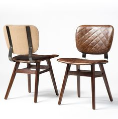 Sloan Quilted Leather Dining Chair                                                                                                                                                                                 More