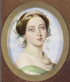 Queen Victoria's Half-Sister & Half-Brother – Royal History Queen Victoria Family, Queen Victoria Prince Albert, Victoria Reign, Victoria And Albert, Princesa Victoria, Reine Victoria, Old Prince, Miniature Portraits, Queen Victoria