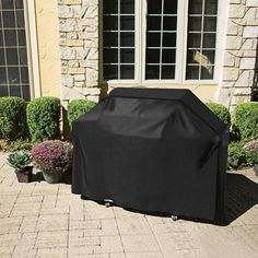 Bbq Walfos Waterproof Bbq Grill Black Cover Garden Patio Rain Anti Dust Proof Barbecue Party Protecter Shield Pure And Mild Flavor Garden Supplies