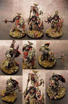 Black Templar Terminator Assault Squad