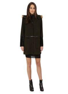 ZAC by Zac Posen Parker Wool Coat
