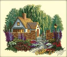 Summer House - Cross Stitch Kits by RTO - R198