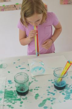 Making Art with Bubbles