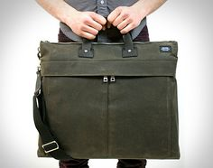 Jack Spade Brief Bag. Just picked one of these up in grey. Quality craftsmanship and material usage.