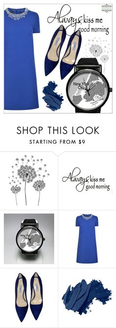 """""""FreeForme 10/6"""" by goldenhour ❤ liked on Polyvore featuring jcp, Boutique Moschino, Prada and Bobbi Brown Cosmetics"""