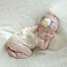 newborn girl lace romper set newborn girl cream photo outfit baby