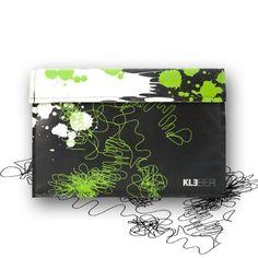 KLEBER-Taschen Sleeve Smart Cover Etui Tasche Schutz Hlle Case Cover mit Filz fr Apple Macbook Air 11″ *Paint it Black