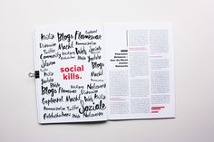 Das Magazin Shitstorm ist in meinem Kommunikationsdesignstudium entstanden. Es beschäftigt sich mit wirtschafts- und gesellschaftspolitischen Themen, Berichten, Reportagen und Interviews. Es werden aktuelle Themen aus dem Weltgeschehen behandelt und auf ernste, satirische, illustrative und textreiche Art gelöst. Die erste Ausgabe befasst sich mit dem aktuellen Flüchtlingsthema. Das Gestaltungskonzept des Shitstorm Magazins ändert sich in jeder [...]