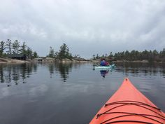 #kayak #adventure #Ontario #Canada #Travel #tourism #discovercanada #lake #sport #georgianbay #natural #islands #park #discovering #earth #love #photography #photooftheday #picture #instacool #instaphoto #instalove #happy #life #follow #dreamer #dream #nofilter #sunday #morning by instaisy_