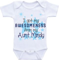 Personalised baby gifts pinterest personalised baby babies and auntie and nephew gift auntie onesies baby clothes aunt onesie auntie shirt baby boy aunt aunt negle Gallery