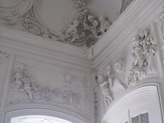 rundale palace | Description Rundale palace interior, stucco decorations.jpg
